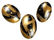 Eggs design / pattern illustration. Isolated 3D eggs design / pattern illustration Royalty Free Stock Photos
