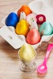 Eggs for easter breakfast Stock Images