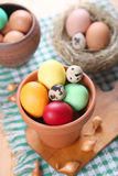 Eggs for the Easter Royalty Free Stock Image
