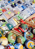Eggs, Easter market, Prague, Czech republic Stock Images