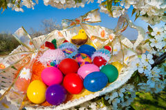 Eggs for Easter Stock Photos