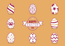 The eggs easter Royalty Free Stock Images
