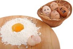 Eggs effrayé photos libres de droits