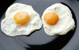 Eggs face royalty free stock photos