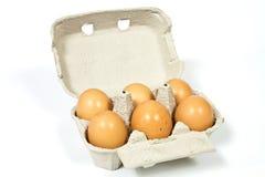 Eggs from the family farm Royalty Free Stock Photos