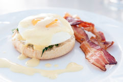 Eggs florentine Royalty Free Stock Photos