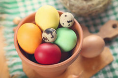 Eggs For The Easter Royalty Free Stock Images