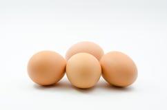 Eggs, Four eggs Stock Photography