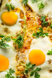Eggs fried Royalty Free Stock Photo