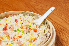 Eggs Fried rice Stock Image
