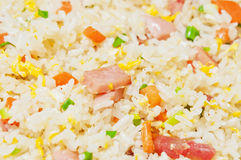 Eggs Fried rice Stock Photo