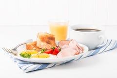 Eggs and Ham stock photos