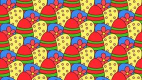 Eggs il fondo Immagine Stock