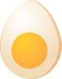 Eggs illustration. Hardboiled Egg sliced in half isometric 3d vector illustration Stock Photo