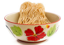Eggs and instant noodles Royalty Free Stock Photos