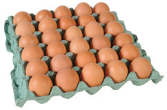 Eggs. Isolated Royalty Free Stock Image