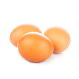Eggs isolated Royalty Free Stock Photos