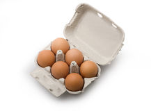 Eggs - Isolated Royalty Free Stock Image