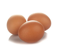 The Eggs isolated Stock Photo