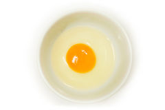 Eggs. Isolated on a white background Royalty Free Stock Image