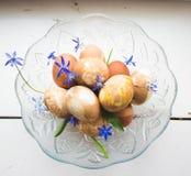 Eggs la composizione Immagine Stock