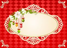 Eggs with lace ornaments Royalty Free Stock Photo