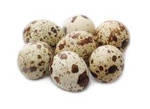 Eggs las codornices Fotografía de archivo