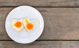 Eggs of love Stock Images
