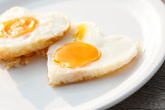 Eggs of love Stock Photo