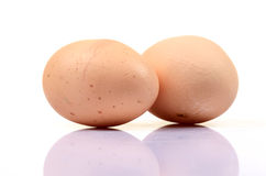 Eggs 'natural protein source' Royalty Free Stock Photos