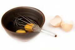 Eggs for omelet Stock Image