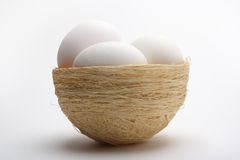 Free Eggs On Nest 4 Stock Photo - 1286710