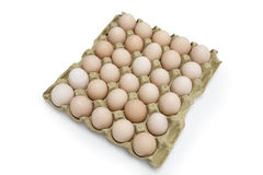 eggs in the package Royalty Free Stock Image
