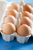 Eggs in the package Royalty Free Stock Images