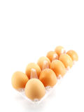 Eggs packed Stock Image