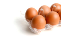 Eggs in packing Royalty Free Stock Photography