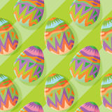 Eggs abstract seamless pattern background Royalty Free Stock Image
