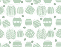 Eggs pattern backgrounds royalty free stock image