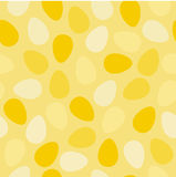 Eggs pattern Stock Image