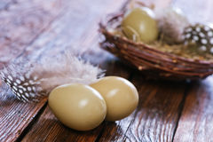 Eggs pheasant Royalty Free Stock Image
