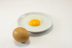 Eggs. This photo are chicken eggs.Eggs food protein substance and other symptoms to humans Royalty Free Stock Photos
