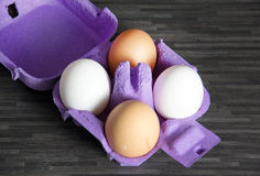 Eggs. A photo of some eggs royalty free stock image