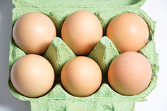 Eggs. A photo of some eggs royalty free stock photo