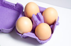 Eggs. A photo of some eggs royalty free stock photos