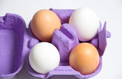 Eggs. A photo of some eggs stock image
