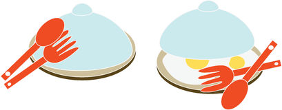Eggs in  a plate Royalty Free Stock Photography