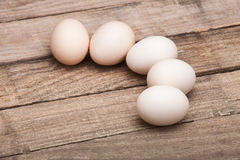 The eggs put on a small group Stock Image