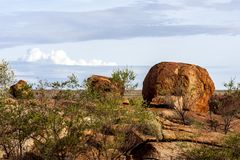 Eggs of the Rainbow Serpent, Devils Marbles Conservation Reserve, Northern Territory, Australia