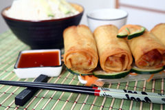 Eggs rolls Royalty Free Stock Photography