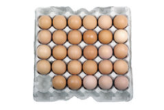 Eggs in safety package. Stock Photography